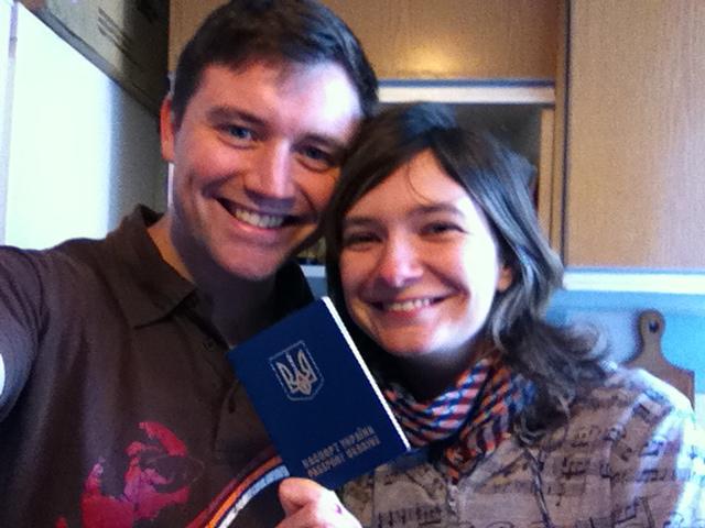 Katya got her visa!!!