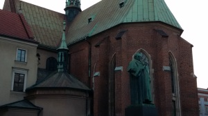 The church at the monastery where I stayed...