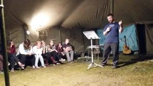 David preaching in Ukrainian!