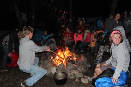 What could be better than a campfire in the middle of the woods with friends?
