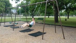 We found a park!