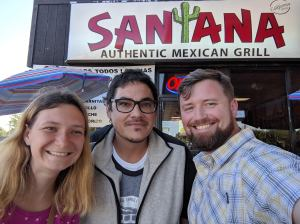 Lunch with Tony Perdomo, the missions coordinator of an SC church
