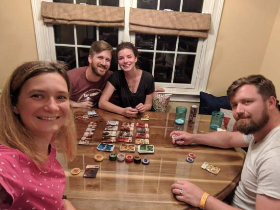 More board games with them